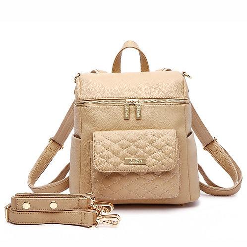 PRE ORDER Petit Monaco Diaper Bag Latte Brown