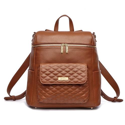 Monaco Diaper Bag Caramel Brown