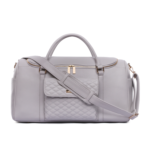 PRE-ORDER Monaco Travel Bag Stone Grey