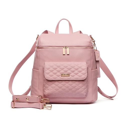 PRE-ORDER Tara Henderson x Luli Bebé Monaco Diaper Bag | Blush Pink