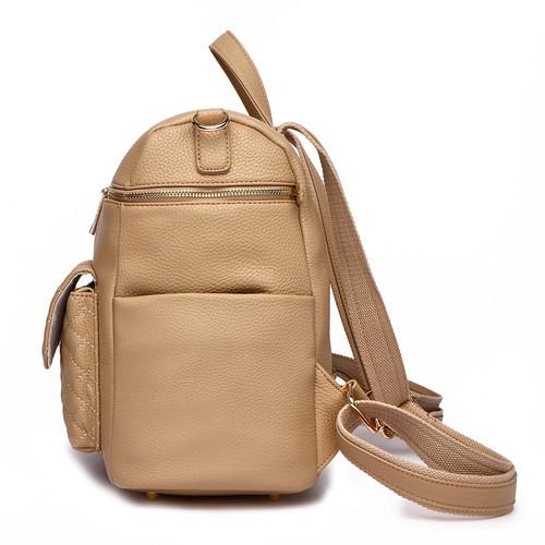 557259225ef0c Petit Monaco Diaper Bag Latte Brown