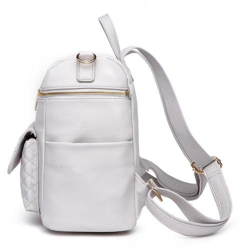 909c4a1fc4eaf Petit Monaco Diaper Bag Stone Grey