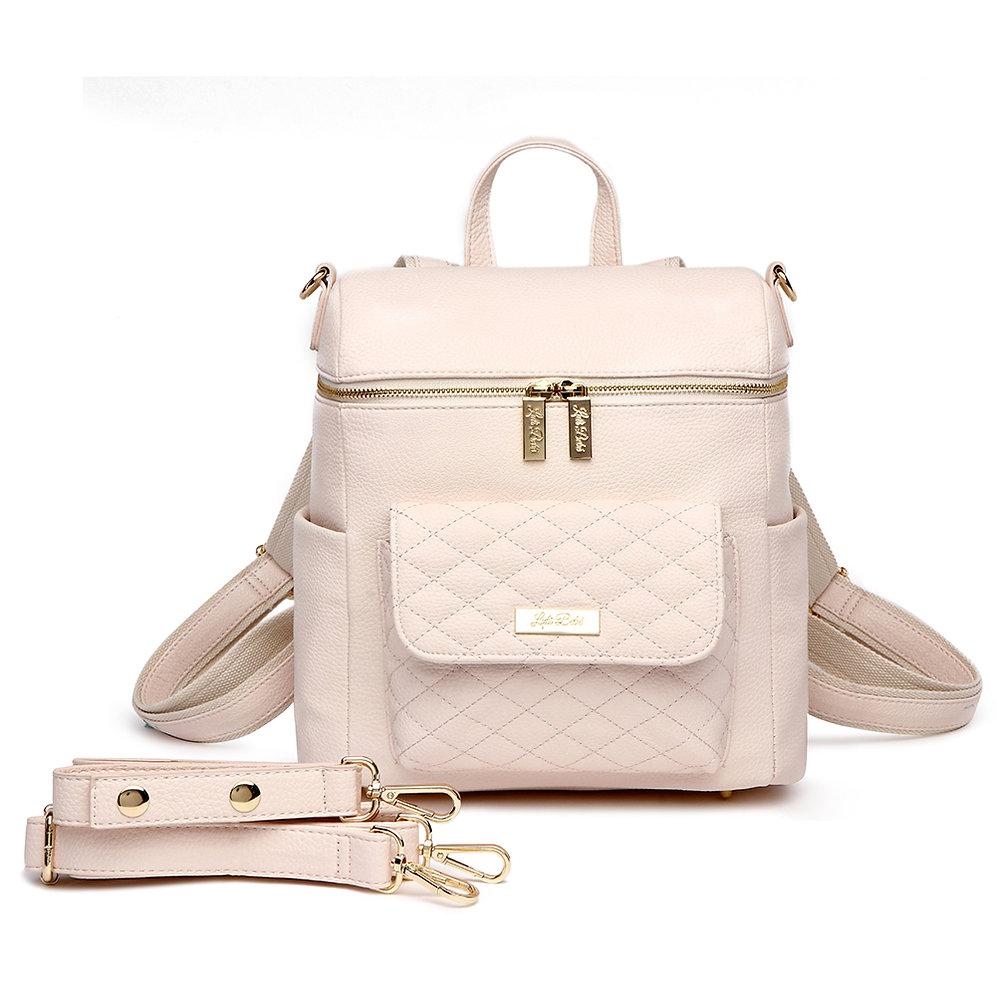 Pe Monaco Diaper Bag Pastel Pink