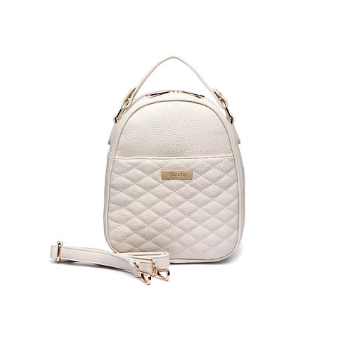 Monaco Snack Bag in Pearl White