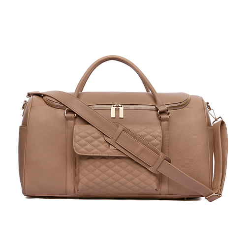 PRE-ORDER Monaco Travel Bag Latte Brown