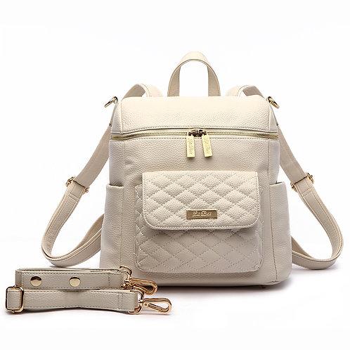 Petit Monaco Diaper Bag Pearl White