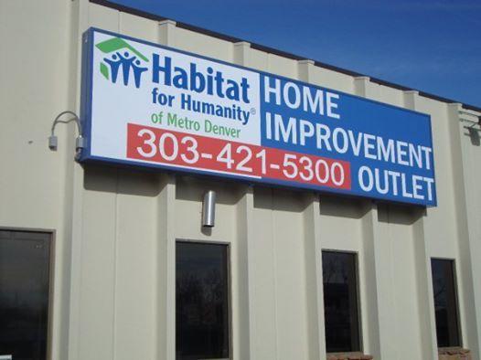 HABITA HOME IMPROVMENT SIGN WHEATRIDGE COLORADO