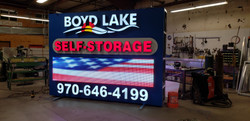 BOYD LAKE SELF STORAGE SIGN