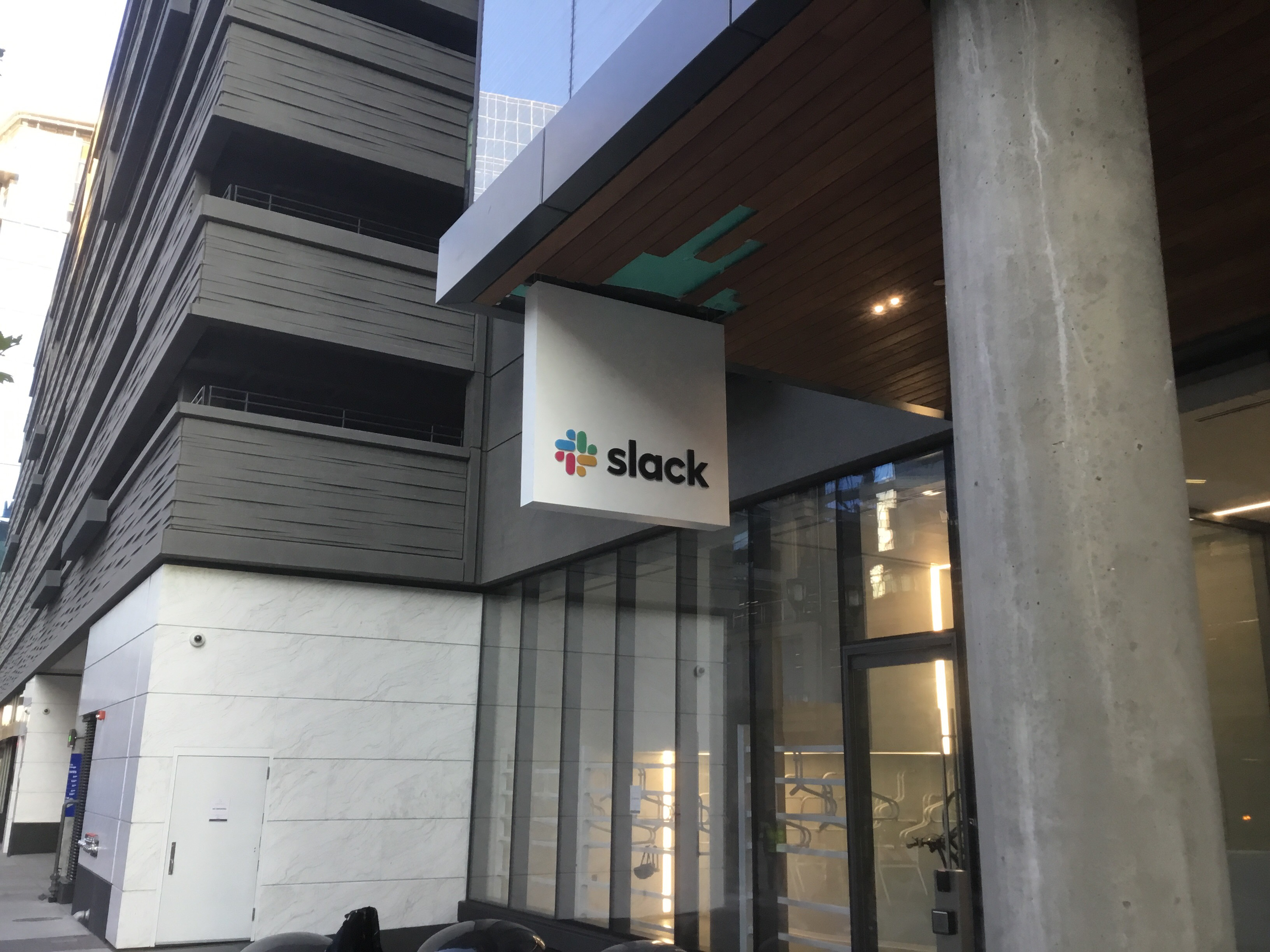 SLACK SIGN DENVER