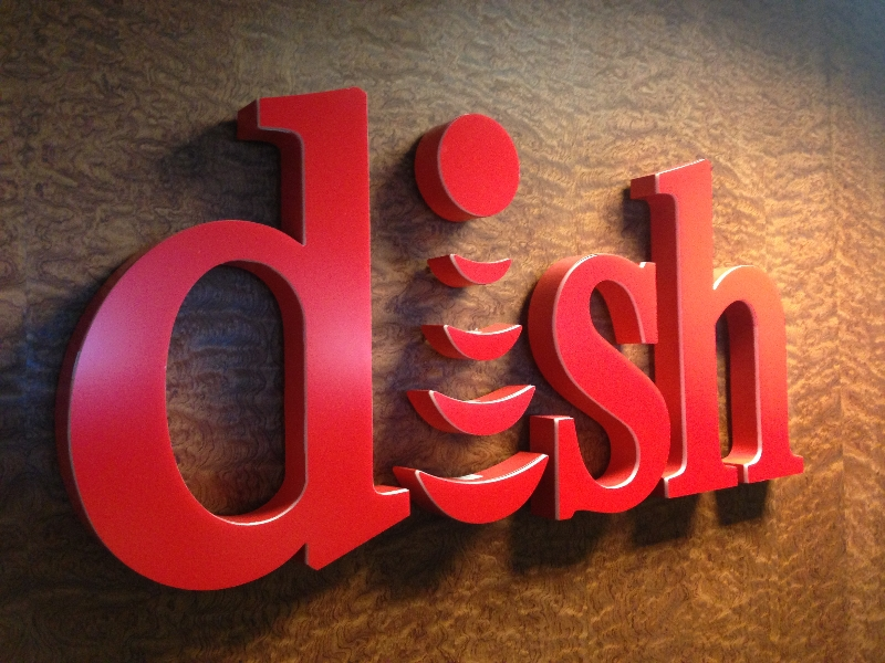 DISH NETWORK SIGNS BRAZZ Specialties Trimless Channel Letters