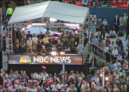 NBC SIGN DEMOCRAT NATIONAL CONVENTION