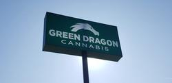 GREEN DRAGON DENVER SIGN