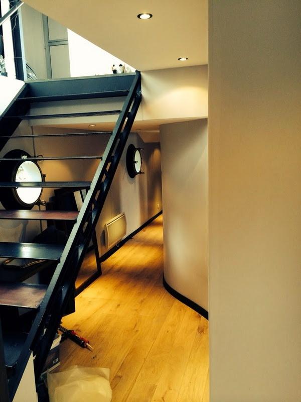 Péniche Escalier Atelier2c.fr
