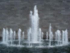 Fuentes danzantes - Caidas de agua