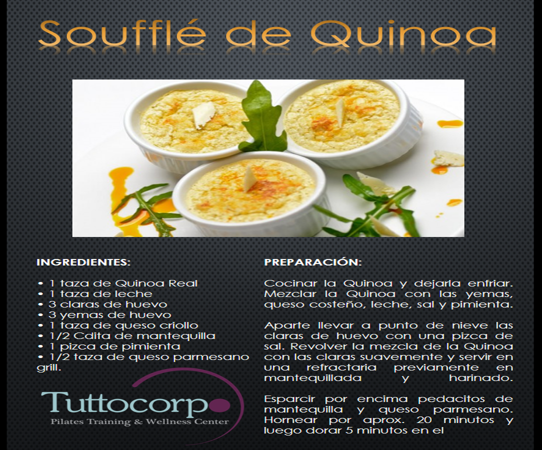 soufle de quinoa