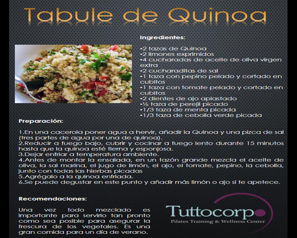 tabule de quinua