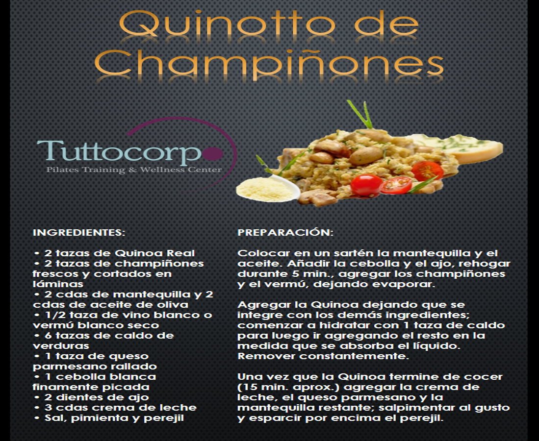 quinotto_de_champiñones