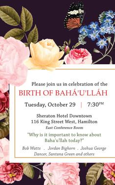 Birth of Baha'u'llah