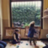 taller de pintura para bebés y niños