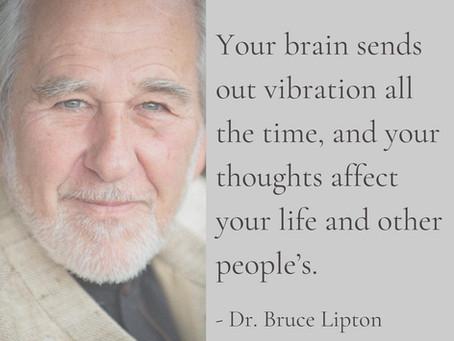 你的每一個意識狀態高低,都在創造、顯化物質實相。- Dr. Bruce Lipton