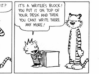 How do you deal with writer's block?