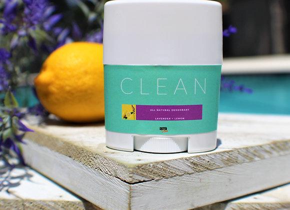 CLEAN Lavender + Lemon