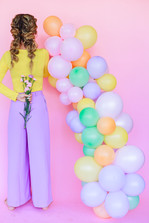 Balloon Garlands by Deliciously Ordinary