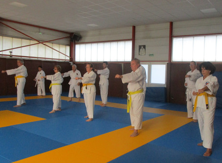ORIGINAL ET INNOVANT LE KARATE SENIOR
