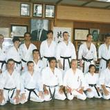 Dojo Miyahira sensei 1997