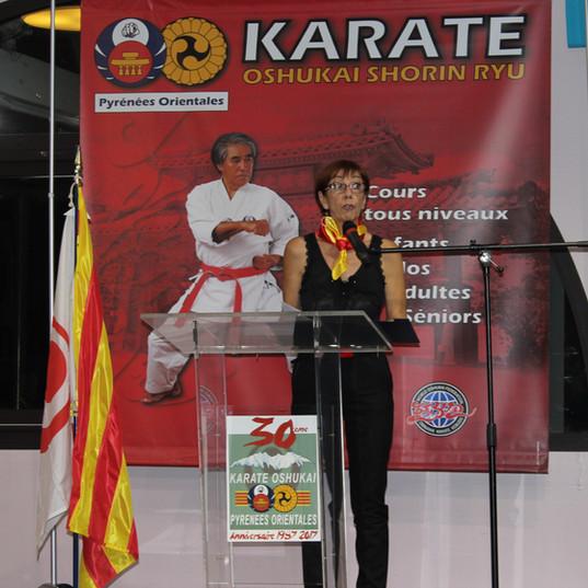 Corinne Giovannai Karate Oshukai