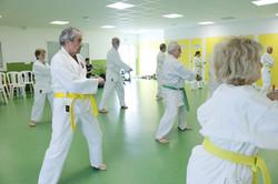 Il n'y a pas d'âge pour le Karate