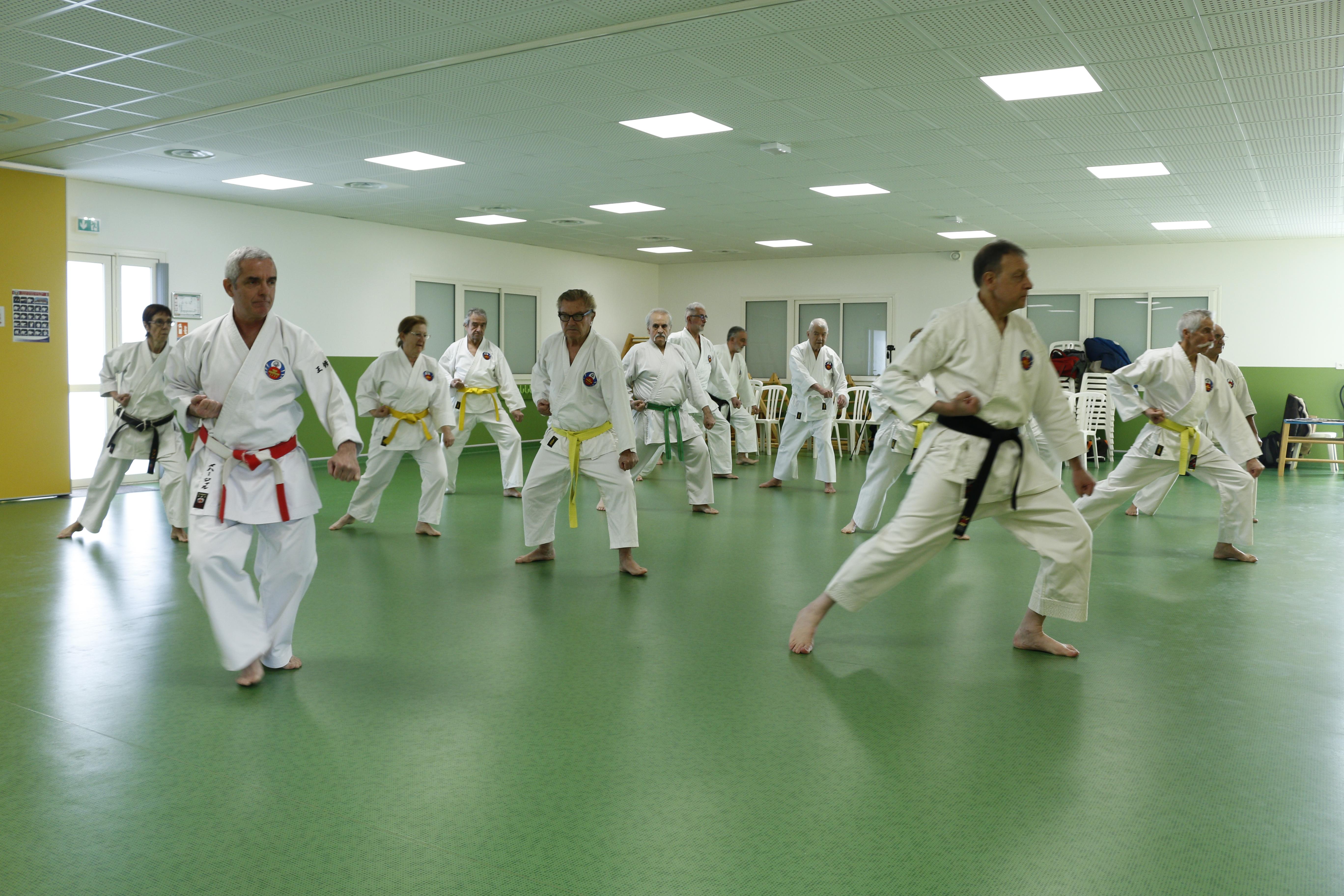 """Karate Senior """"Tous ensemble"""""""