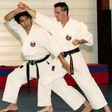 Chinen Sensei et Gilles Mehard1992
