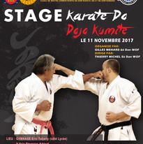 Dojo kumite Stage Canet en Roussillon