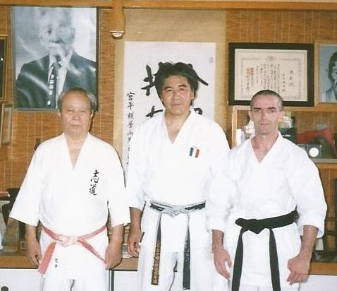 Dojo Miyahira Sensei, les Maîtres