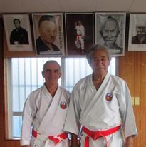 Maître Kenyu CHINEN et Gilles MEHARD