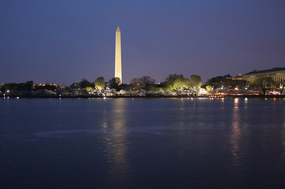 The Washington Monument and Tidal Basin