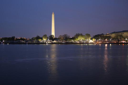 The Washington Monument and Tidal Basin