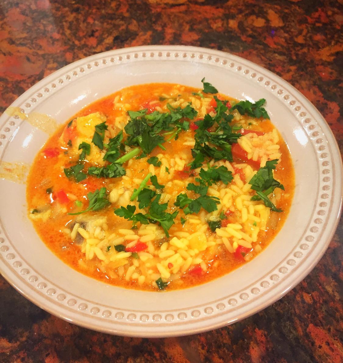 Arroz de Tamboril, Monkfish Rice - Recipe
