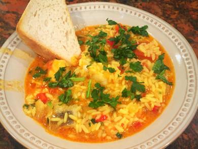 Arroz de Tamboril (Monkfish Rice)