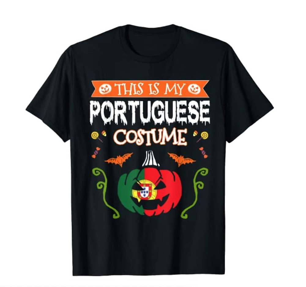 """""""This is My Portuguese Costume"""" t-shirt"""
