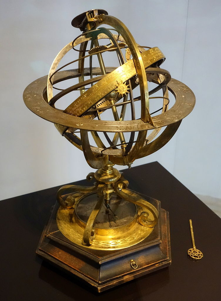 Armillary Sphere used by Portuguese navigators