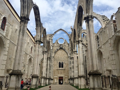 Convento do Carmo: A Relic in Lisbon