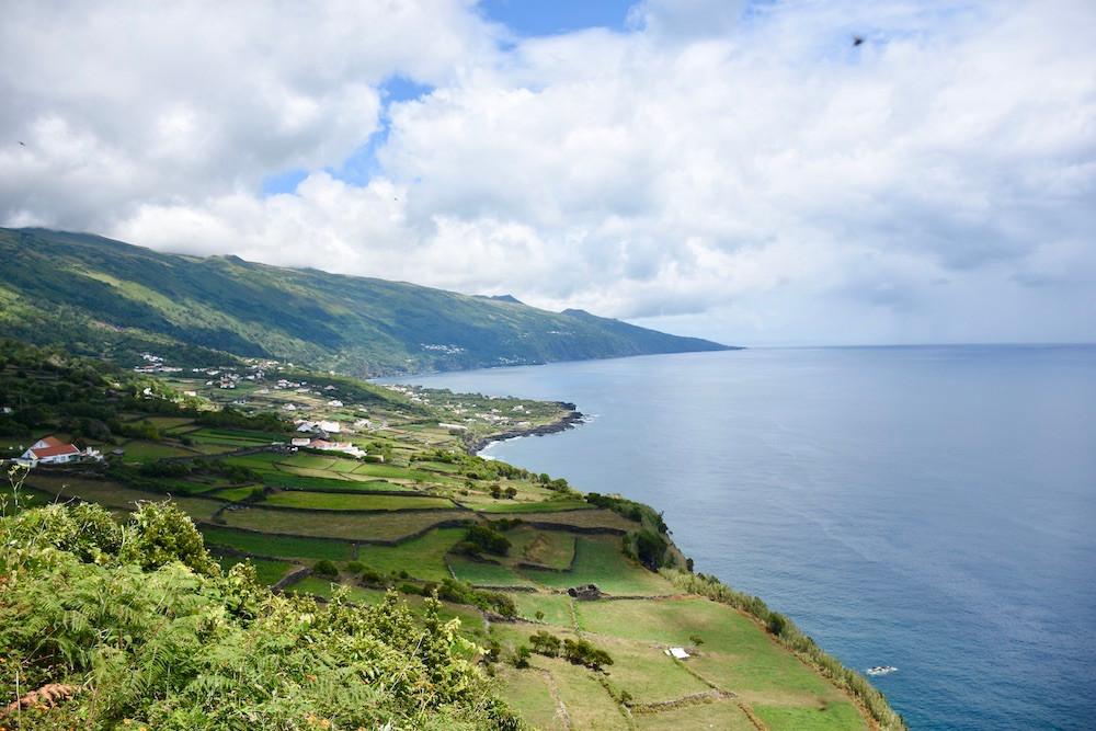Coastline of Pico Island, Azores, Portugal