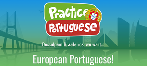 Practice Portuguese, an online educational resource