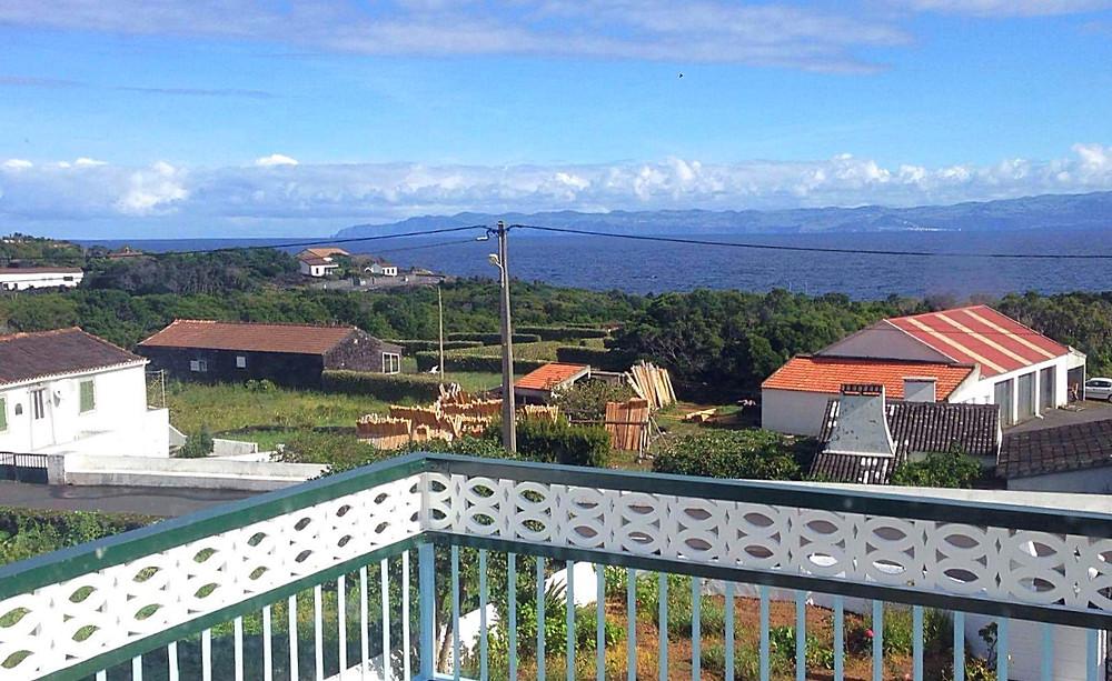 View of São Jorge island from Pico