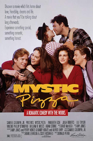 Mystic Pizza movie with Portuguese family