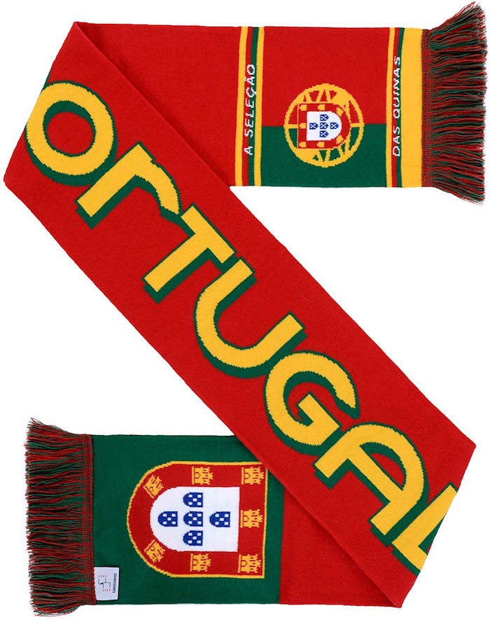Portugal Euro 2016 Champions soccer scarf