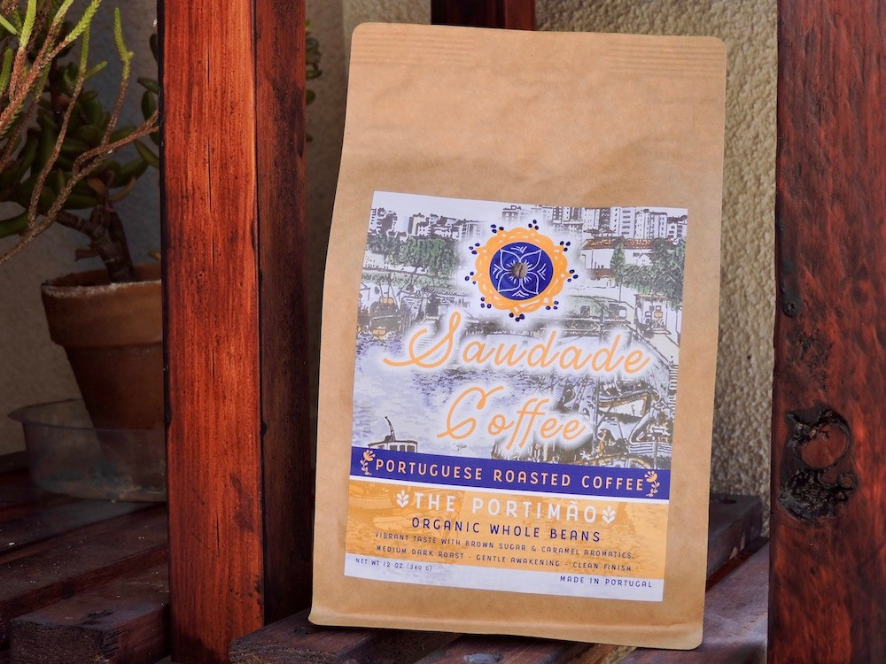 Medium roast Portuguese coffee by Saudade Coffee