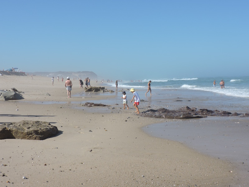 A perfect summer beach day in Foz do Arelho
